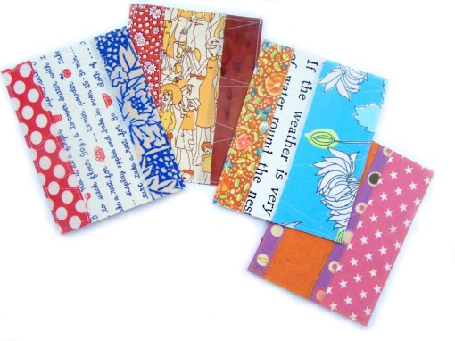 Four quilted cards