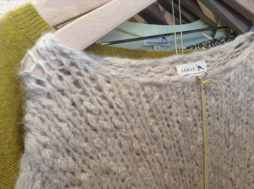 Drool-worthy sweaters at Soeur