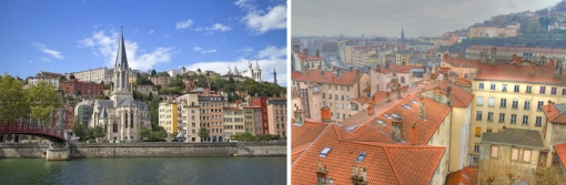 Lyon is a UNESCO World Heritage site. Even the rooftops are beautiful.
