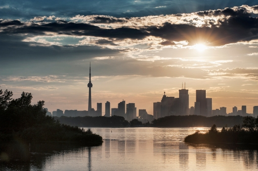 Toronto skyline: photo by  John Davidson Photography ©
